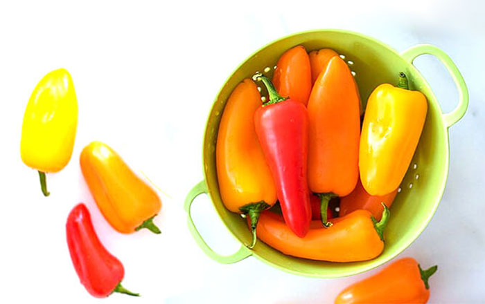 Snacky Peppers